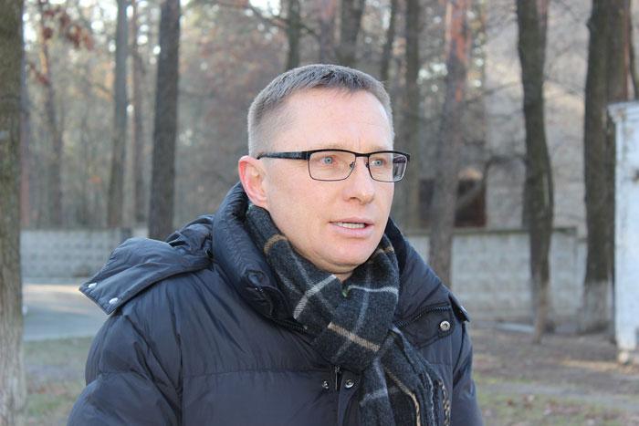 """Керівника Громадської організації """"БСД"""", Войналович Юрій."""